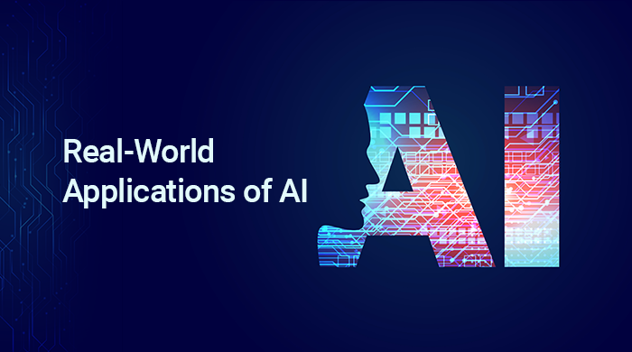 Real-world applications of AI